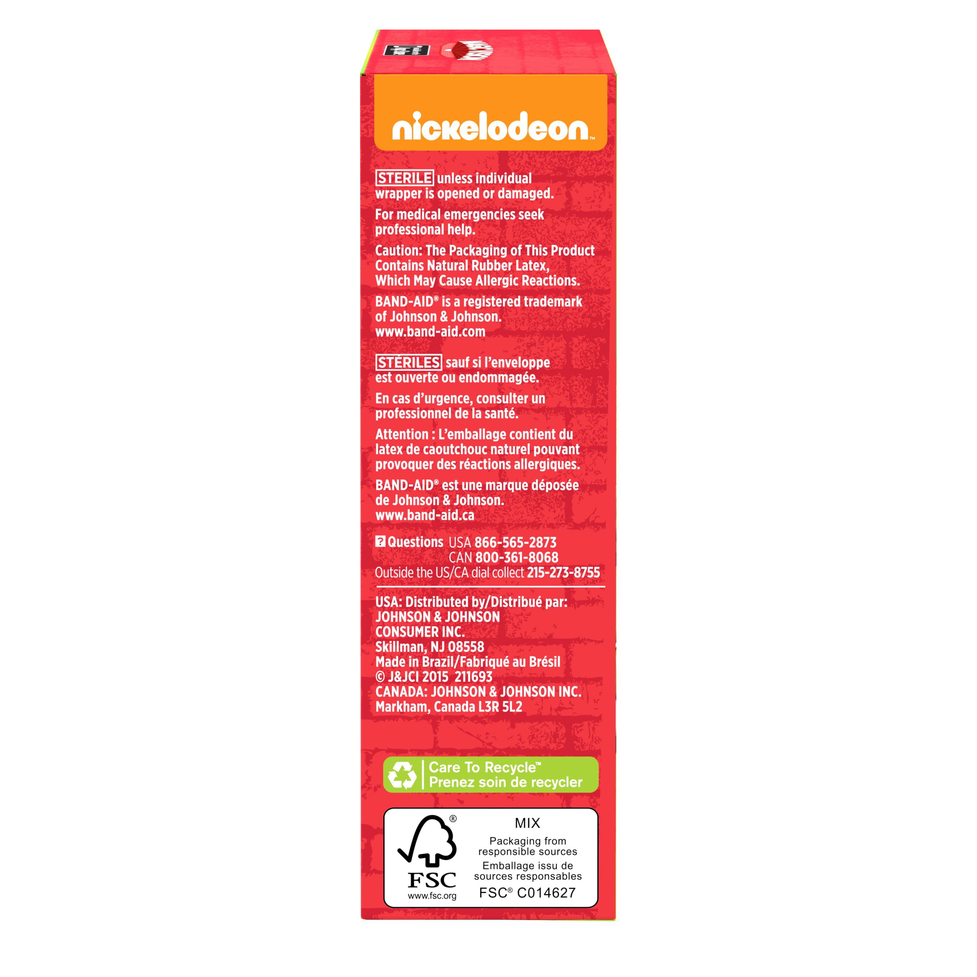 Children's Band-Aid Brand Adhesive Bandages - Walmart com