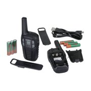 Uniden Sx167-2ch 16-Mile 2-Way FRS/GMRS Radios, 2-Pack with 6 Batteries