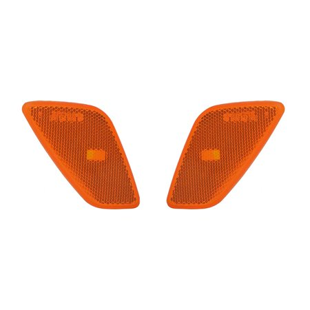 NEW PAIR OF SIDE MARKER LIGHTS FITS JEEP WRANGLER 1997-2006 55155628AC 55155629AC CH2551120 CH2550120