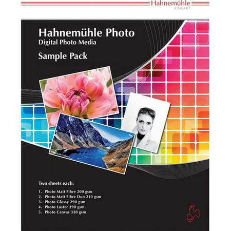 Hahnemuhle Inkjet Paper (Hahnemuhle Fine Art Inkjet Photo Paper Sample Pack (8.5 x 11 inch., 10 Sheets))