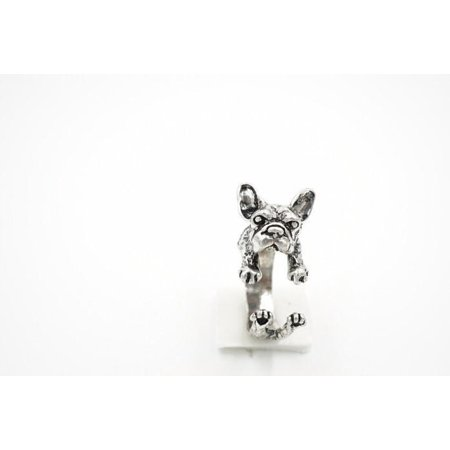 French Ring Sport (ON SALE - Frenchy French Bulldog Adjustable Animal Wrap Ring)