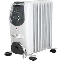 Pelonis 7-Fin Electric Radiator Heater