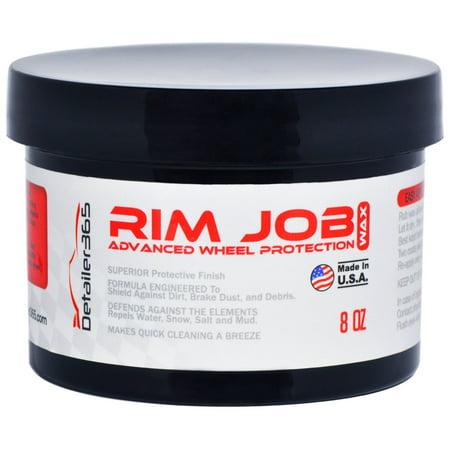 Detailer 365 Rim Job Wheel Wax Superior Protective Finish -
