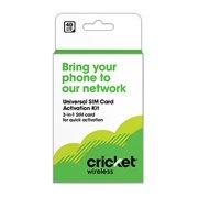 Cricket Small SIM Kit
