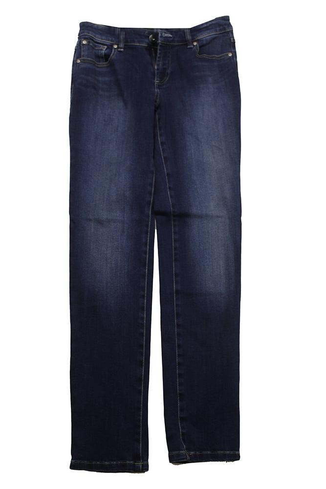 Inc International Concepts Blue Curvy Fit Skinny Jeans 4