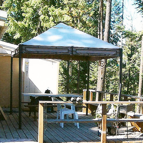 Garden Winds Replacement Canopy Top For 11 X 9 Gazebo Walmart Com