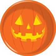 halloween pumpkin plastic bowl 1 pack - Plastic Pumpkins