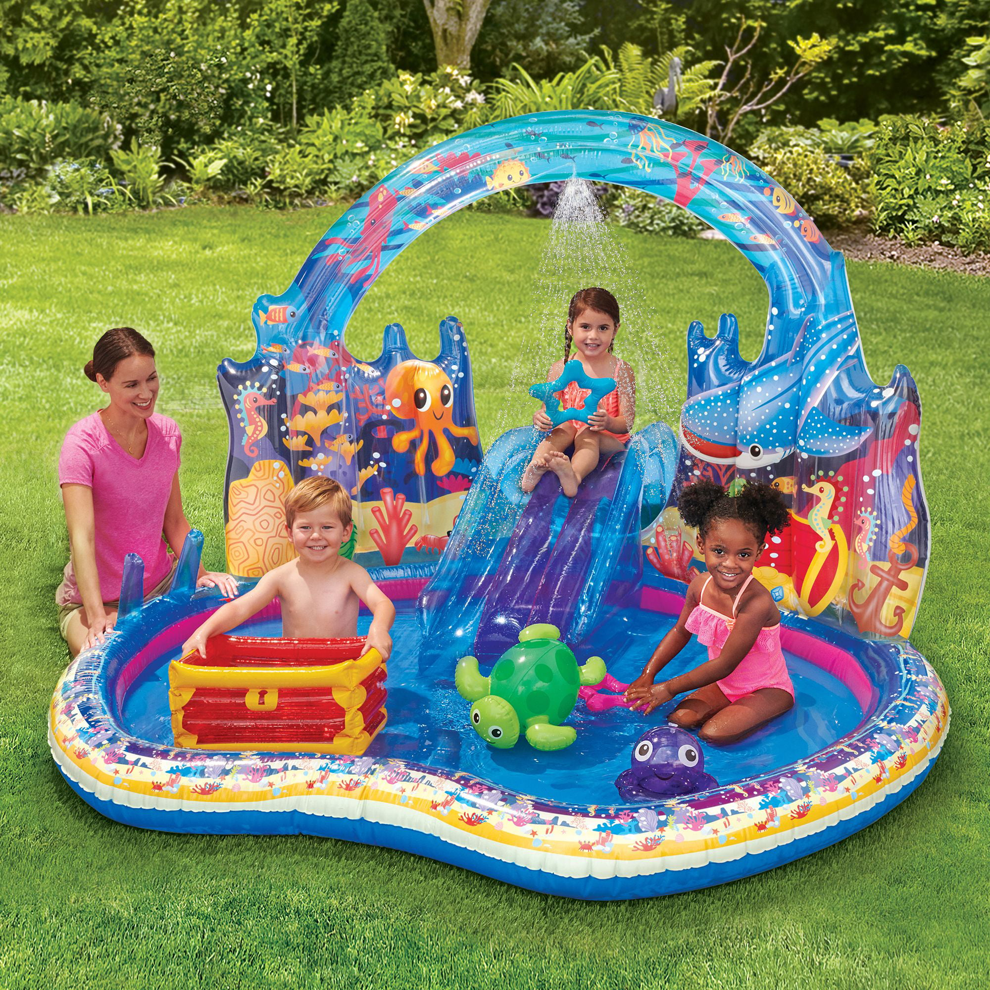 Play Day Under The Sea Inflatable Kids Play Center