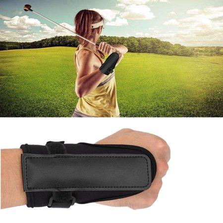 FAGINEY Golf Swing Training Aid, Golf Swing Training Aids Straight Practice Wrist Brace Trainer Corrector Golfer Accessory Golf Golfer Belt