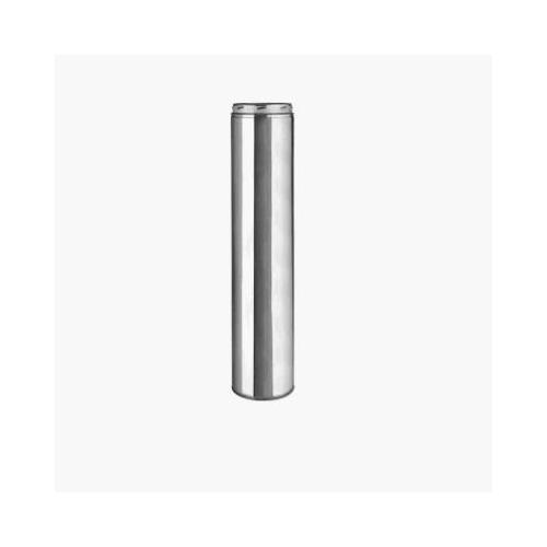 Selkirk 208148 Sure-Temp 8-Inch x 48-Inch Stainless Steel Double Wall Insulated Chimney Pipe