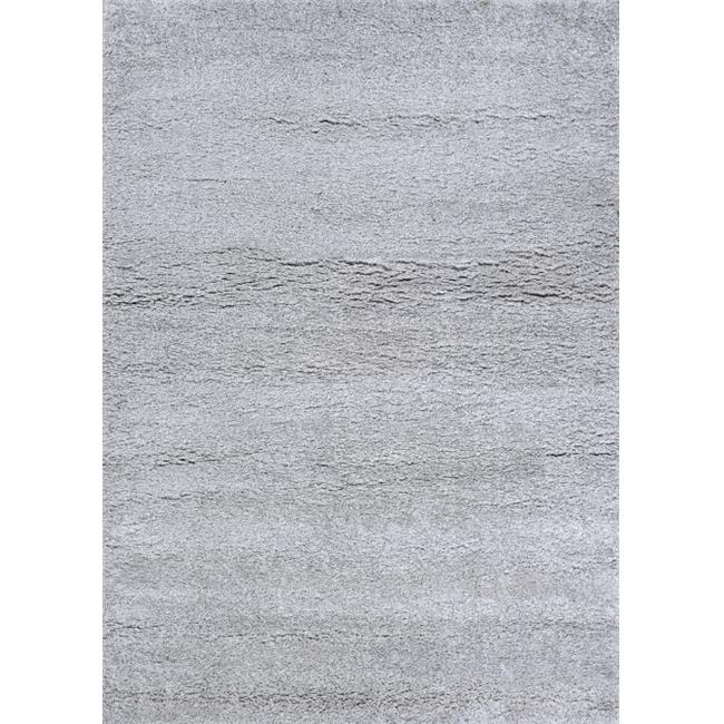 Couristan U2230036053076T 5 ft. 3 in. x 7 ft. 6 in. Urban Shag Medina Rectangle Area Rug - Light Grey - image 1 of 1