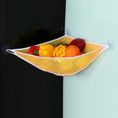 Bath Toy Organizer - Tub Toy Mesh Bag -Tub Toy Storage - Quick Dry Bathtub Toy Holder , Orange - Orange Tub