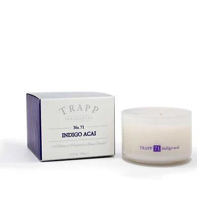 Trapp Candle Flowers - Trapp Candles No 71-Indigo Acai Candle-3.75 Oz Poured Candle