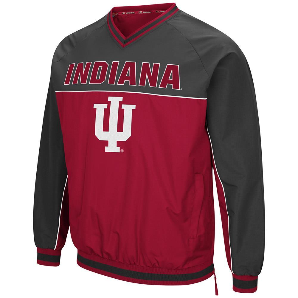 Mens Indiana Hoosiers Windbreaker Jacket - M