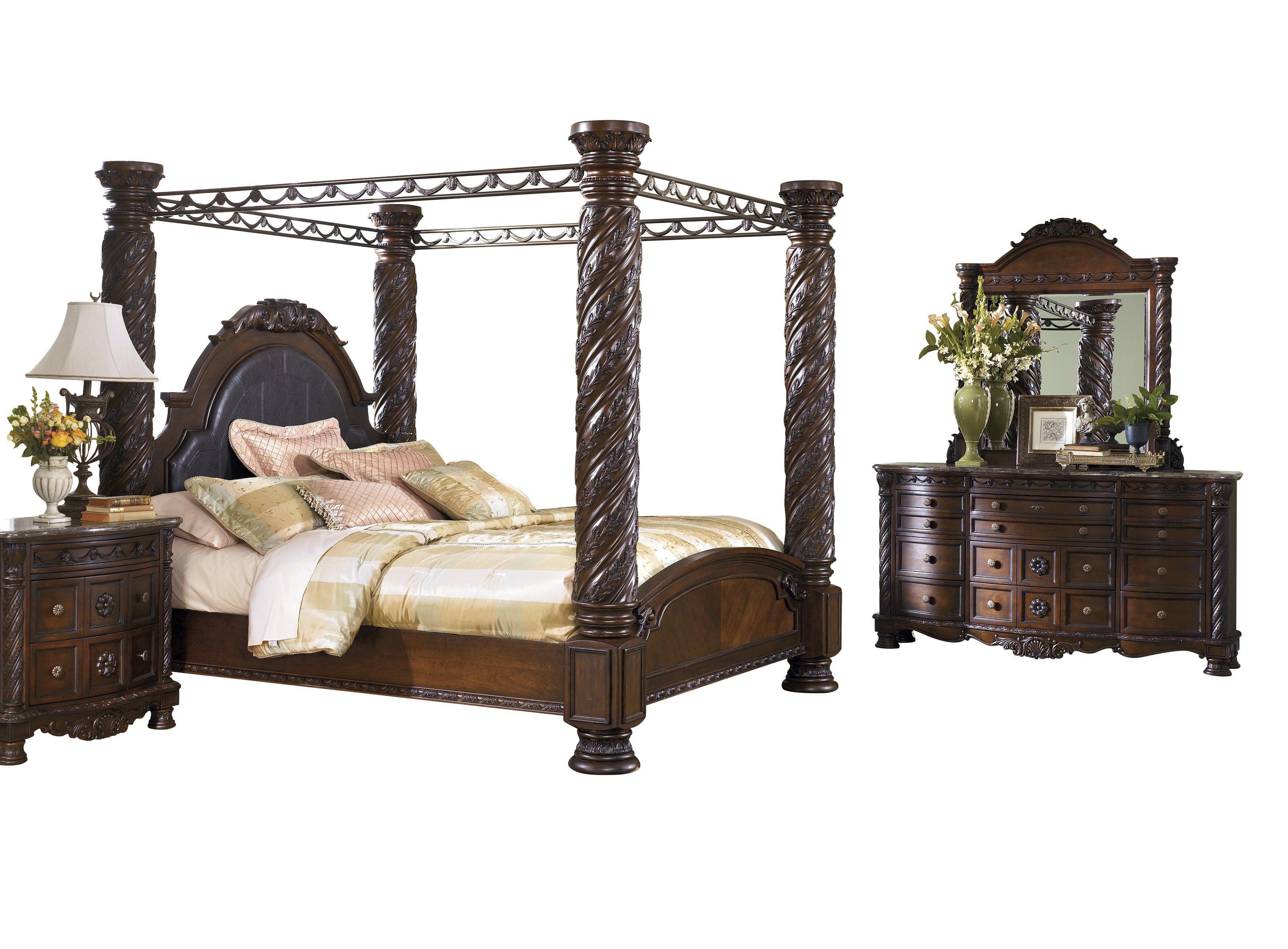 4 poster king size bedroom sets