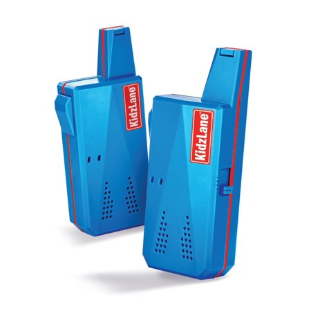 Kidzlane Durable Walkie Talkies  Easy To Use And Kids Friendly  2 Mile Range  3 Channel