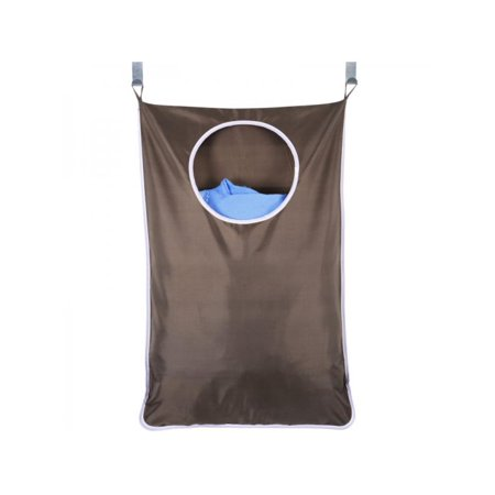 Topumt Laundry Bag Door Hanging Washing Clothes Storage Basket Hamper Hanger Save Space Dirty Clothes Bags ()