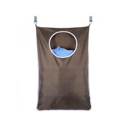 Topumt Laundry Bag Door Hanging Washing Clothes Storage Basket Hamper Hanger Save Space Dirty Clothes (Orla Kiely Climbing Rose Hanging Wash Bag)