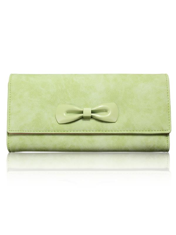 Fashion Women Lady Leather Wallet Purse Long Handbag Clutch Bag Bowknot Card Holder Case