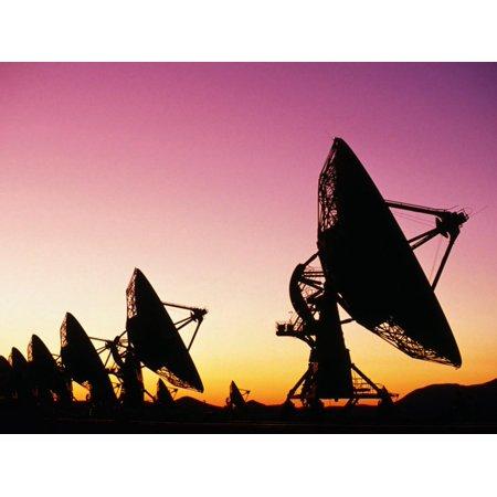 - Very Large Array (Vla), Radio Telescope, USA Print Wall Art By John Elk III