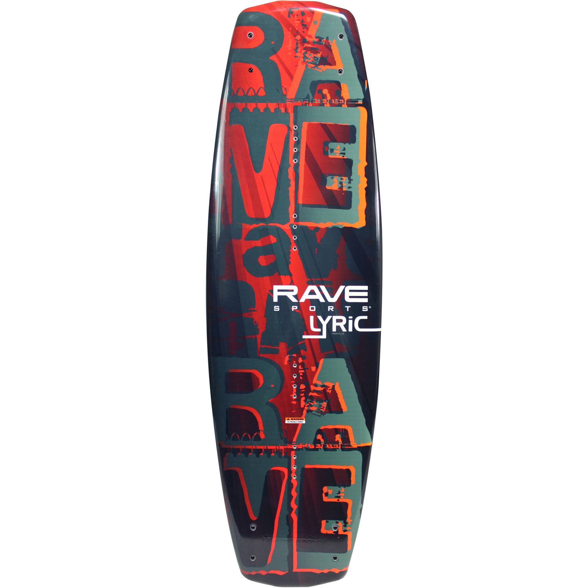 Rave Sports Lyric Wakeboard with Advantage Boots by Rave Sports