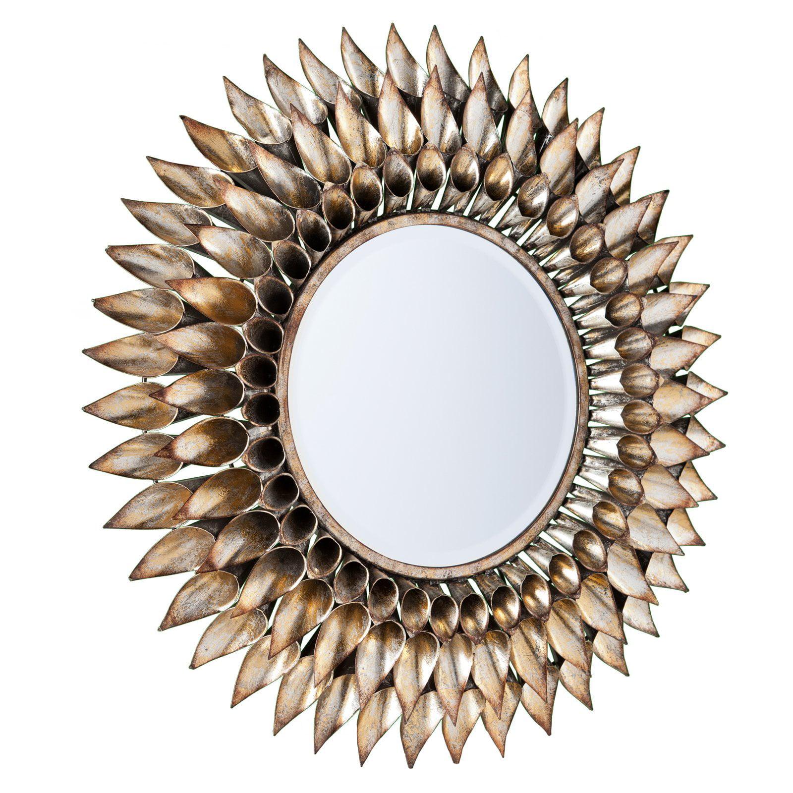 Southern Enterprises Leandro Decorative Wall Mirror - 24.5 diam. in.