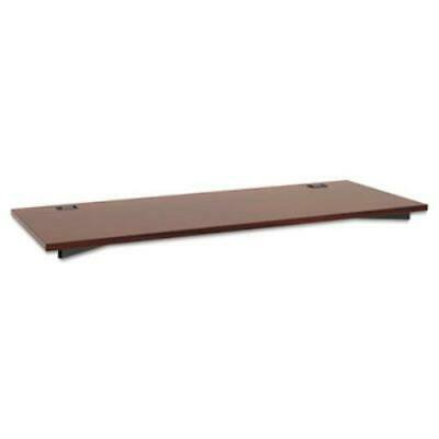 Basyx Manage Series Worksurface, Laminate, 60w x 23-1/2d x 1h, Chestnut Basyx Bl Laminate Series