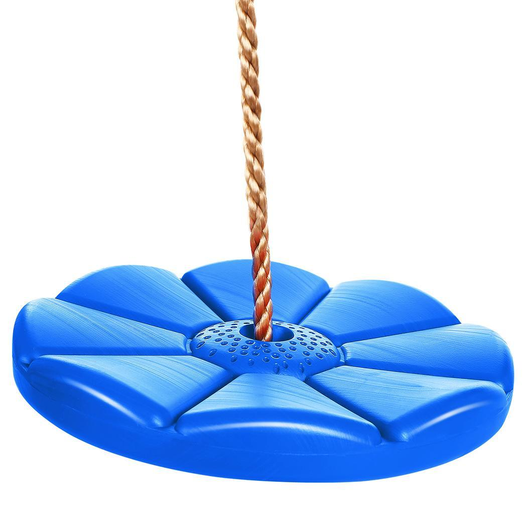 ECLINK The worth buy Kids Adult Disc Swing Seat Outdoor Playground Play Set with Chain