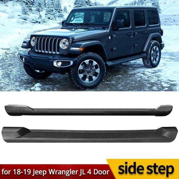 For 2018-2019 Jeep Wrangler JL 4DR Nerf Bar Side Step