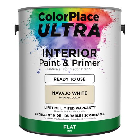 Paint And Primer >> Colorplace Ultra Interior Paint Primer In One 1 Gallon Walmart Com