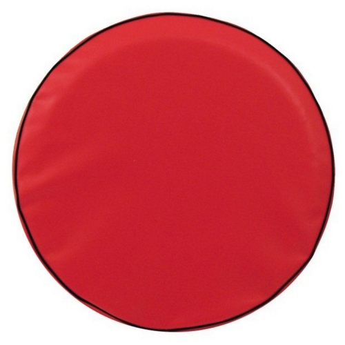 Tire Cover by Holland Bar Stool - Plain Red, 32.25'' x 12''