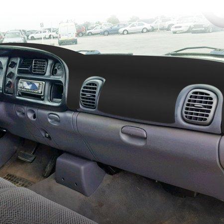 TSV Black Carpet Dashboard Cover 1998-2001 Dodge Ram 1500, 2500 3500,  Custom Fit Dash Cover, Easy Installation