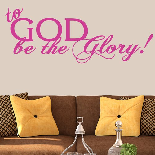 Winston Porter To God Be The Glory Wall Decal