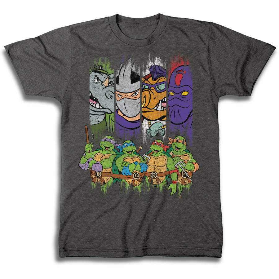 TMNT Characters Men's Short Sleeve T-shirt