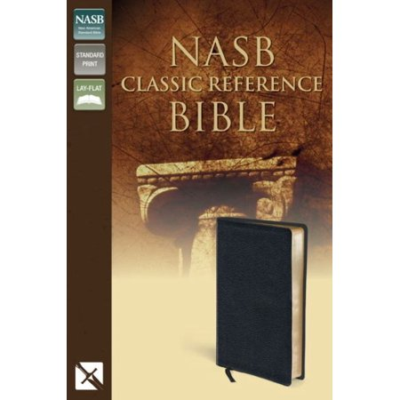 NASB Classic Reference Bible (Black Top Grain, Gilded-Gold Pages) - image 1 de 1