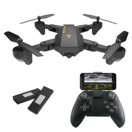 RC Drone Foldable FPV VR Wifi Quadcopter 6-Axis Gyro Remote Control Drone with 120° Wide Angle 720P HD Camera Drone