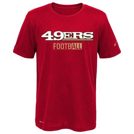 San Francisco 49ers Nike All Football Legend T-Shirt - Scarlet