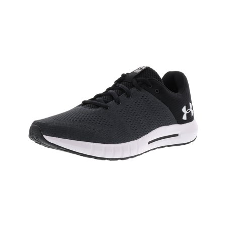 Men's Micro G Pursuit Grey Ankle-High Mesh Running Shoe -