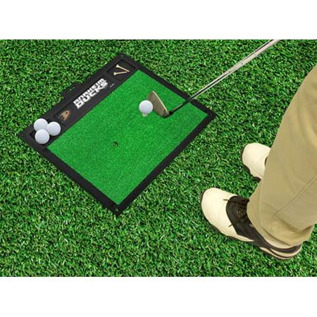 California State 15476 NHL Anaheim Ducks Golf Hitting Mat 20-In x 17-In Dual tee design non skid sports rug