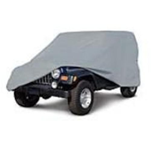 Classic Accessories Deluxe PolyPro III Jeep Cover, Grey