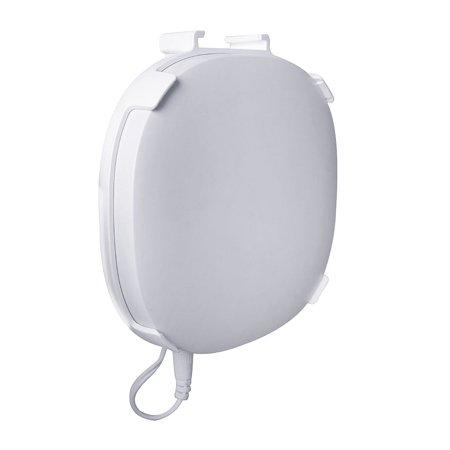 Holder for Samsung SmartThings Hub V3, Outlet Wall Mount Stand for Samsung SmartThings Smart Home Hub V3, White, Space Saving Home Improve, Better Signal, Better Protection (Hud Homes)