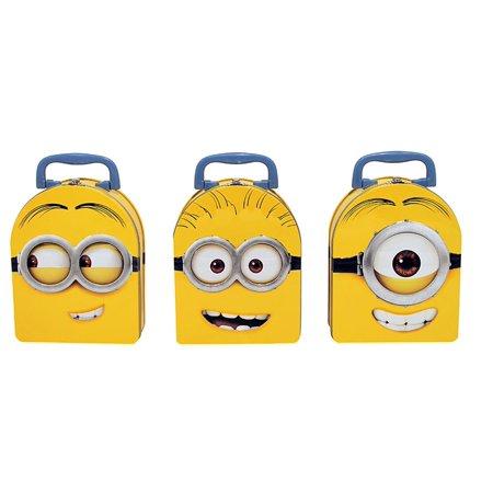 Tin Box Co Carry All Lg Minions Arch Shape Astd