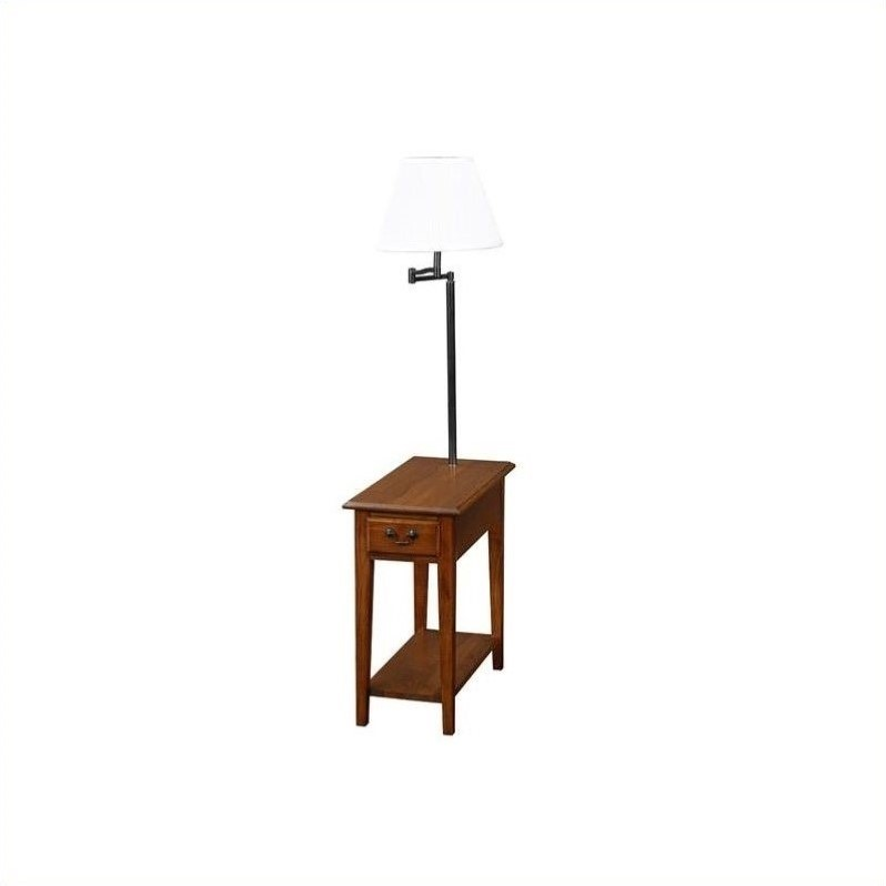 Leick Home Chairside Lamp Table, Multiple Colors by Leick Furniture