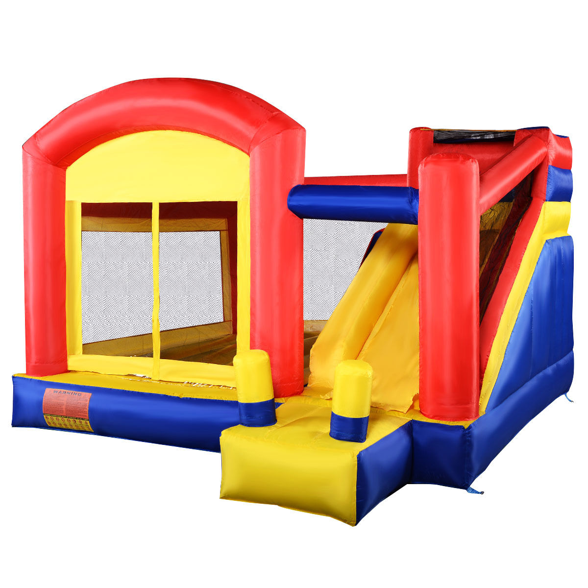 Costway New Super Slide Inflatable Bounce House Castle Moonwalk Jumper Bouncer Without Blower by Costway