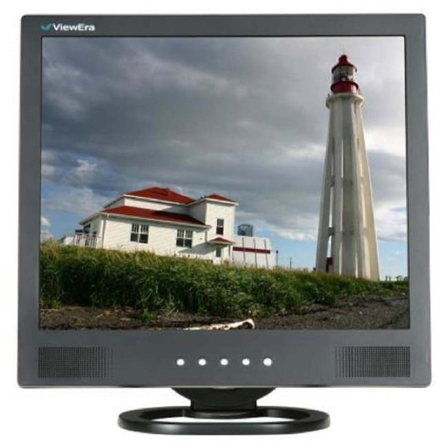 Viewera V172SV-B 17 in. LCD Monitor Black With VGA, Compo...