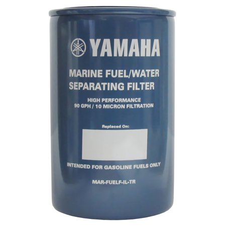 OEM Yamaha Outboard 10-Micron Fuel/Water Separating Filter Only (Yamaha Fuel Filter Mar Fuelf Il Tr)