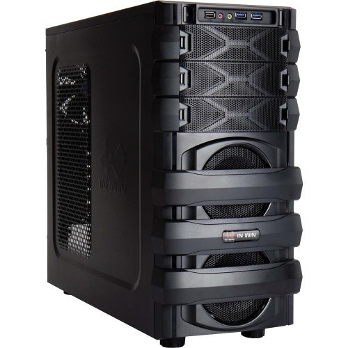 In Win MANA 134 System Cabinet - Mid-tower - Steel - 11 x Bay - 1 x Fan
