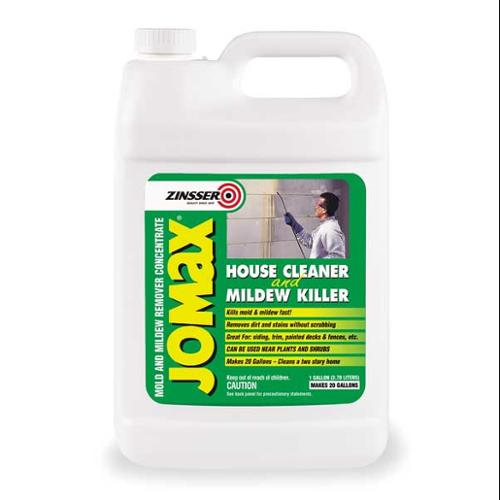 ZINSSER 60101 House Cleaner & Mildew Killer, 1 G