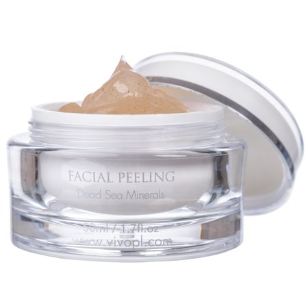 Vivo Per Lei Exfoliating Facial Peeling Gel with Dead Sea Minerals, 50 ml/1.7 fl.oz
