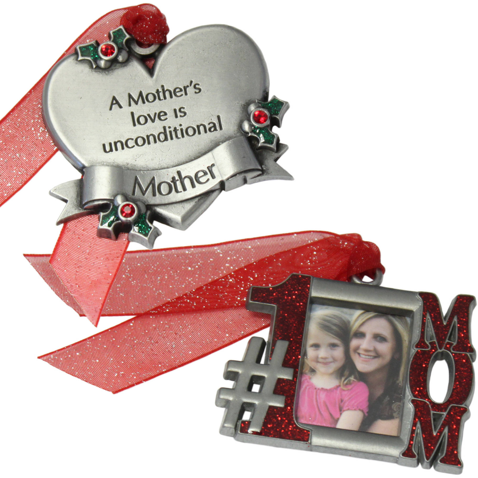 Personalized Gloria Duchin 2pc Mother Ornament Gift Set